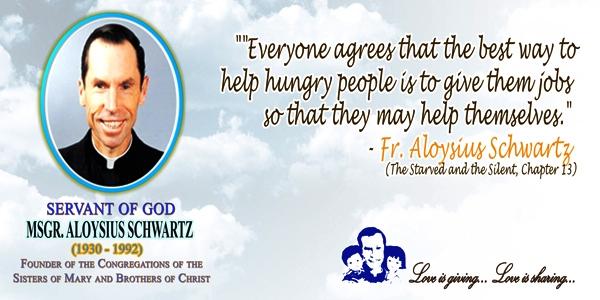 Father Aloysius Schwartz