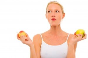 healthy eating on infertility